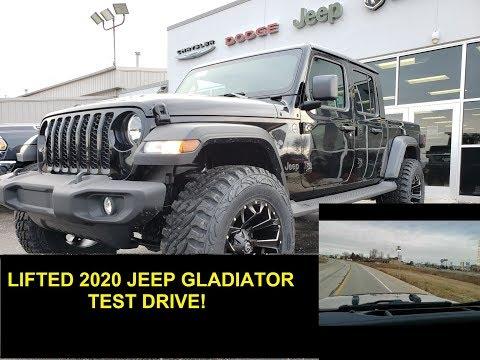 """20J17 LIFTED 2020 JEEP GLADIATOR SPORT TEST DRIVE 1ST DRIVE FACTORY 2"""" MOPAR LIFT SUMMITAUTO.com"""