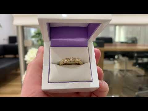Rococo 1 Carat Diamond Eternity Ring