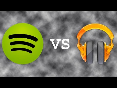 Spotify vs Google Play Music!