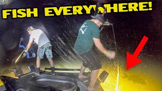 High Speed BOWFISHING on an Airboat!!