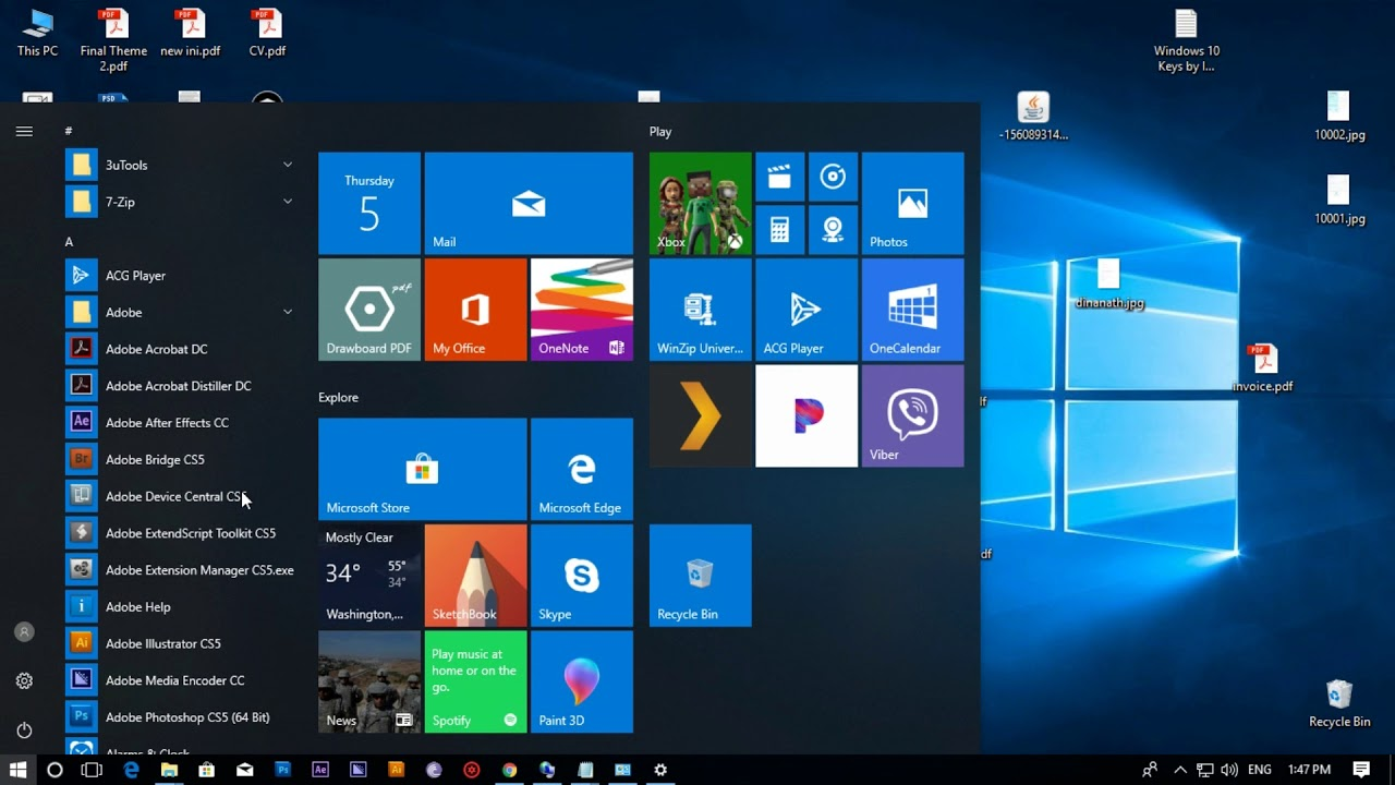 Windows 10 Pro Activate with Genuine License Key - YouTube