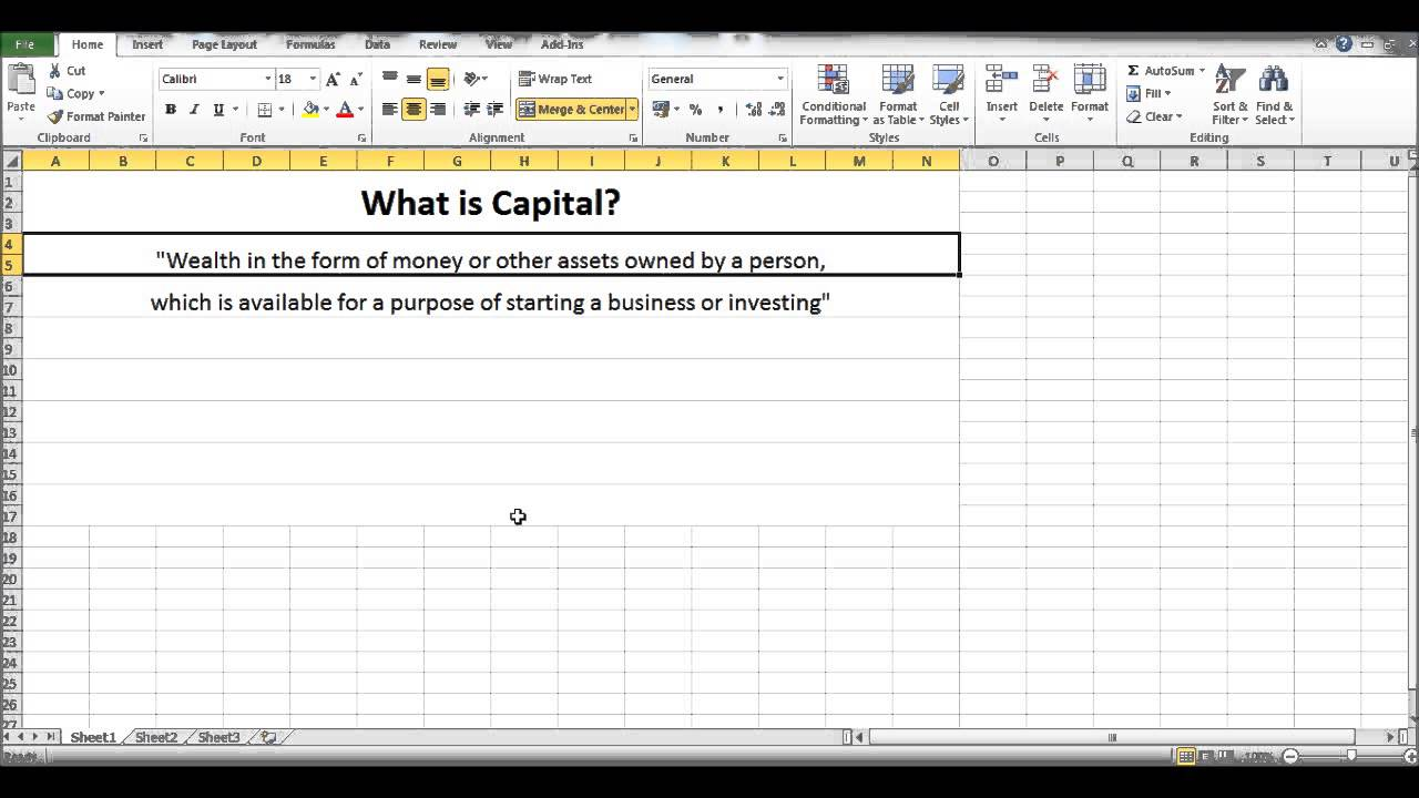 Free online bookkeeping course 2 what is capital youtube free online bookkeeping course 2 what is capital baditri Gallery