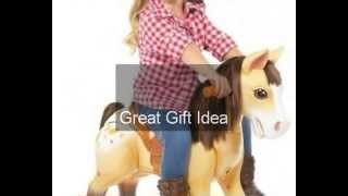 Little Tikes Giddyup N' Go Pony Preschool Horse Kids Play Toy Ride Sound Effects