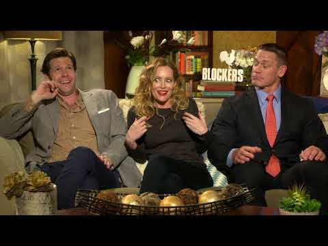 Blockers: Leslie Mann, John Cena & Ike Barinholtz Official Movie Interview
