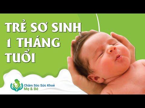 Sự Phát Triển Của Trẻ Sơ Sinh 1 Tháng Tuổi, Những Lưu Ý Khi Chăm Sóc - Tư Vấn Về Sữa Mẹ 1900636422