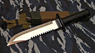 Нож выживания.(Обзор/мнение о ноже для адского выживания. Нож используется сотрудником лесоохраны. Видео снималось 28 нояб..., 2016-11-30T15:07:34.000Z)