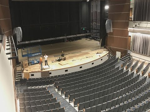 James C. and Mary B. Martin Center for the Arts nears completion