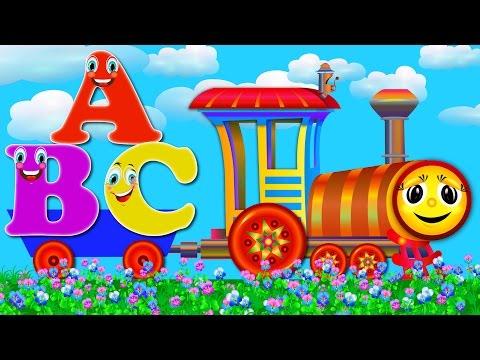 Alphabet Train Song   Learn ABC Songs Best  for Children  Nursery Rhymes for Kids