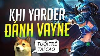 Yarder   YOU WON'T BELIEVE WHEN YARDER PLAYS BOT LANE WITH VAYNE - HI AM VAYDER