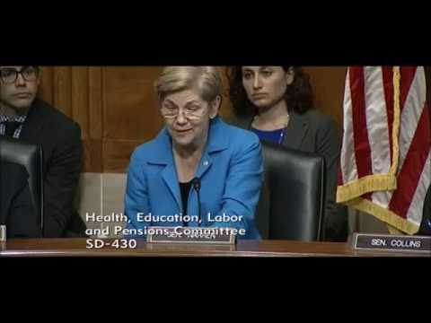 Elizabeth Warren - Improving Health Care Through Patient Access to Their Records
