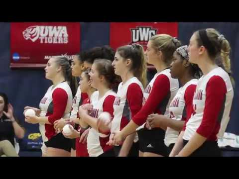 West Alabama vs UAH GSC Volleybal Tournament Semifinal