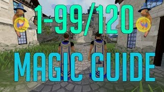 Runescape 3 - 1-99/120 Magic guide 2018