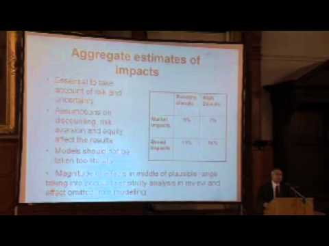 Sir Nicholas Stern - The economics of climate change