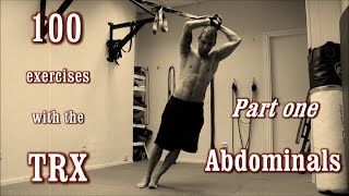 100 exercises with the trx the complete guide part 1 abdominals