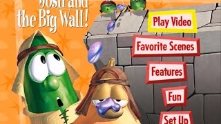 VeggieTales-Josh and the Big Wall!  Menu Walkthrough
