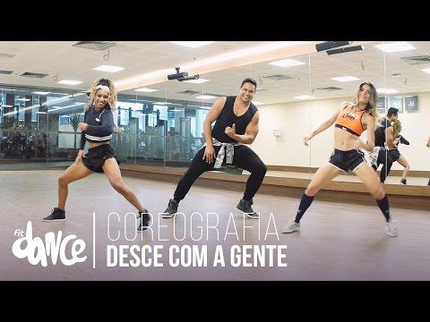 Desce com a gente - Harmonia do Samba - Coreografia |  FitDance - 4k