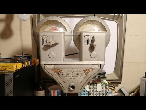 1960s Duncan Duplex Parking Meter 3: Cleaning, Reassembly
