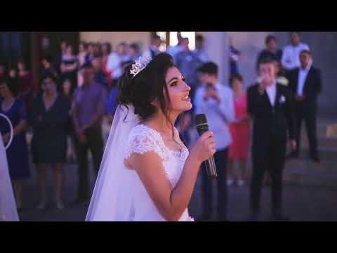 Surpriză muzicală pentru mire | ♥ Mireasa canta foarte frumos ♥ 2017 |Nunta Moldovenească|