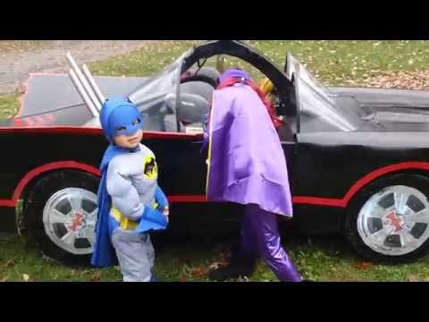 Home Built replica 1966 Batmobile from the 1960's Batman TV series