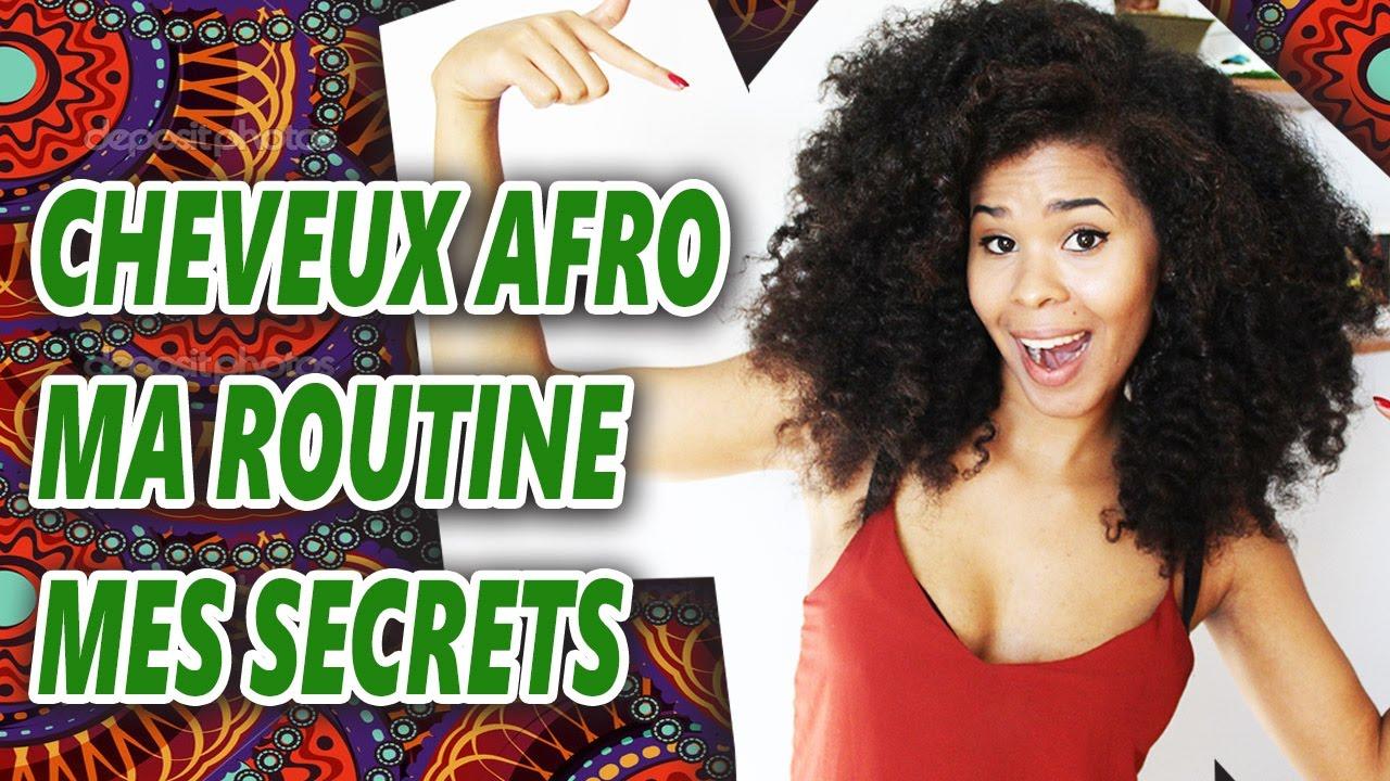 Très CHEVEUX CRÉPUS/FRISÉS : MA ROUTINE CAPILLAIRE, MES SECRETS ! - YouTube GL28