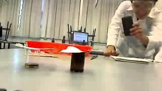 Acido sulfurico + permanganato de potasio + acetona