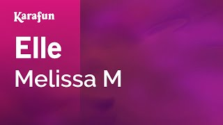 Karaoke Elle (Cover of Stevie Wonder) - Melissa M *