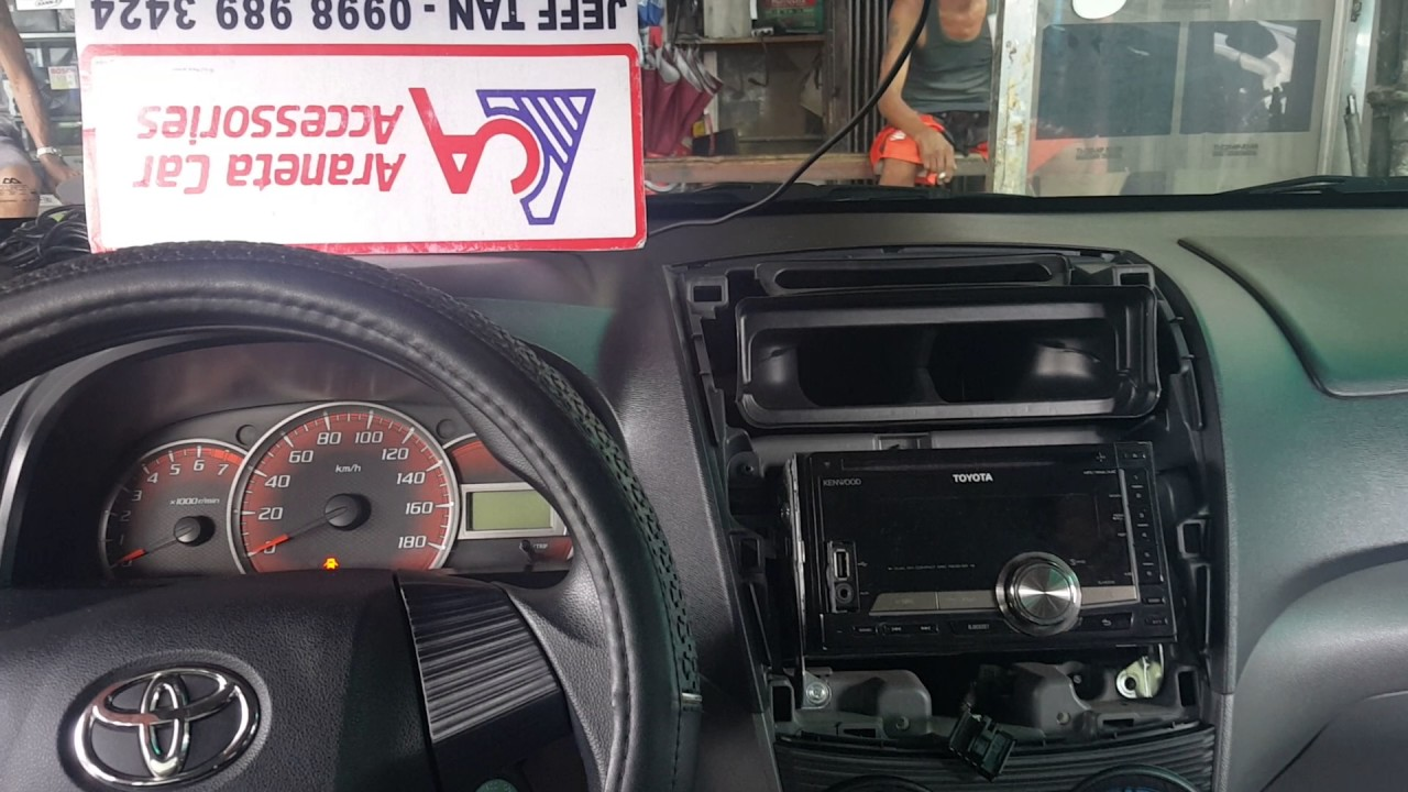 small resolution of aca toyota avanza stereo panel removal