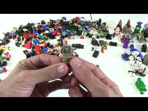 LEGO 250+ Minifigure Unboxing
