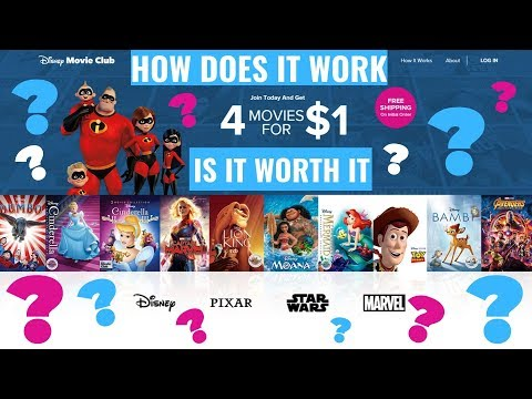 What Is The Disney Movie Club??  Is It Worth It??
