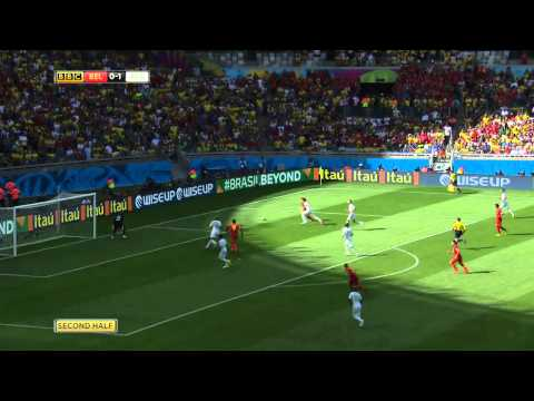 World Cup 2014, Belgium vs Algeria Highlights