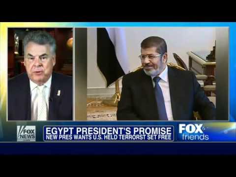 Egypt : Mohammed Morsi vows to free Terrorist blind sheik, Omar Abdel Rahman (July 01, 2012)
