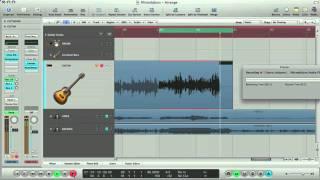 Apple Logic Tutorial - Recording Vocals and Guitar in Logic