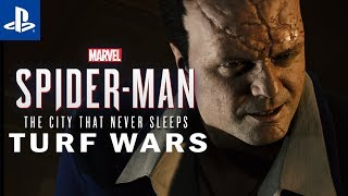 A DONÓW NIE MA Marvel's Spider-Man: The City That Never Sleeps #2 | PS4 | Gameplay | TURF WARS |