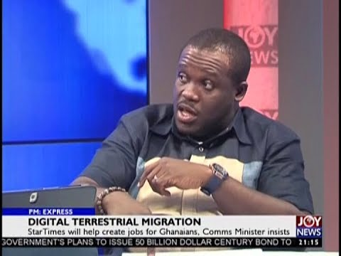 Digital Terrestrial Migration - PM Express on JoyNews (25-9-18)