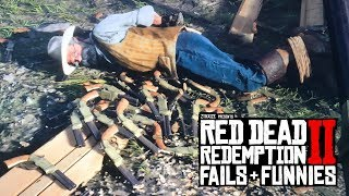 Red Dead Redemption 2 - Fails & Funnies #6 (Random & Funny Moments)