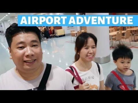MANILA AIRPORT TERMINAL 3 ADVENTURE!