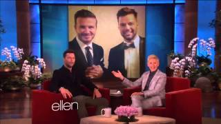 "Entrevista Ricky Martin en ""The Ellen DeGeneres show""_02.05.2014"
