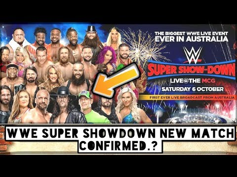 WWE SUPER SHOWDOWN NEW MATCH CONFIRMED..?/World Wrestling Tamil thumbnail