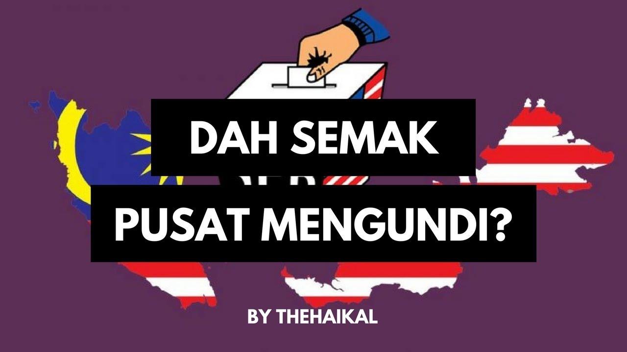 Cara Semak Daftar Pemilih Dan Pusat Mengundi Pru14 Spr Website App Dan Sms Youtube