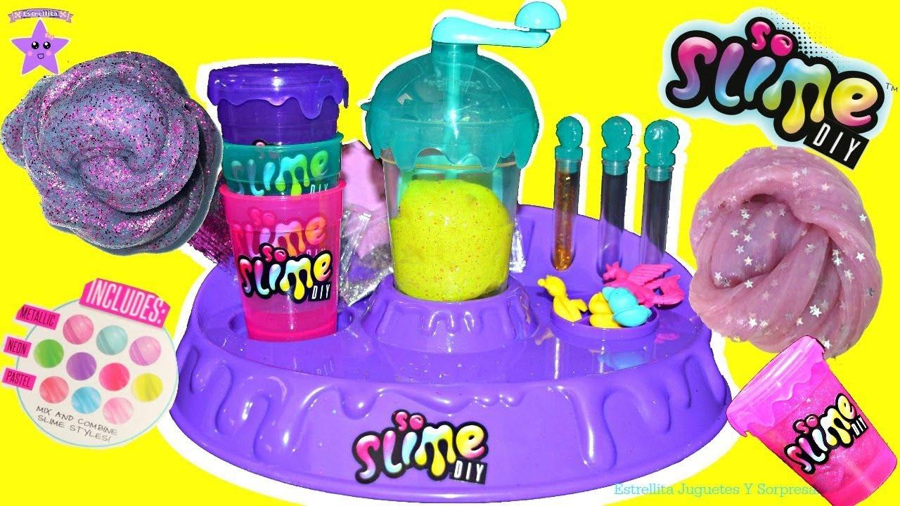 So Factory Diy La Haciendo Slime Fabrica De En deWxroCB
