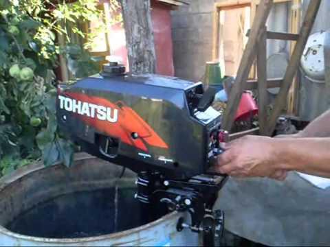 тохатсу лодочный мотор инструкция