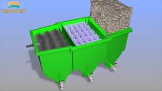 профессиональный проточный фильтр для пруда фирмы Heissner