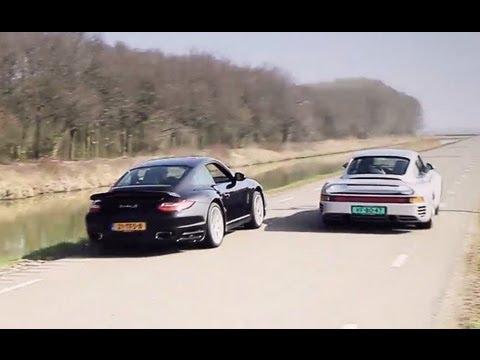 Porsche 959 vs Porsche 911 Turbo S (997)