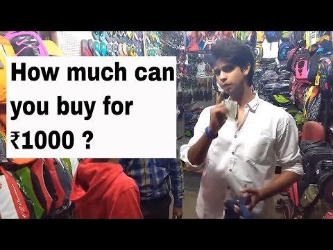 Street shopping at Fashion Street Pune
