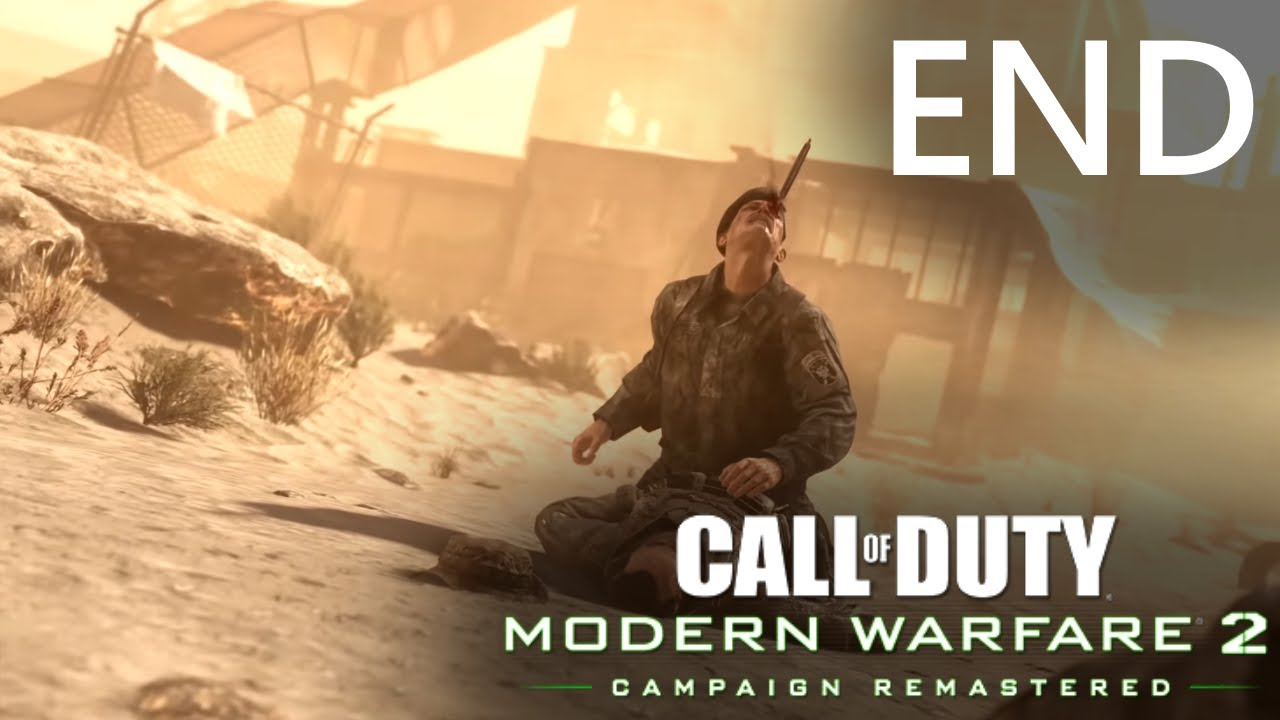 Modern Warfare 2 Remastered (PC, 2020) FINAL PART - Endgame & Credits (1440p, 60fps)