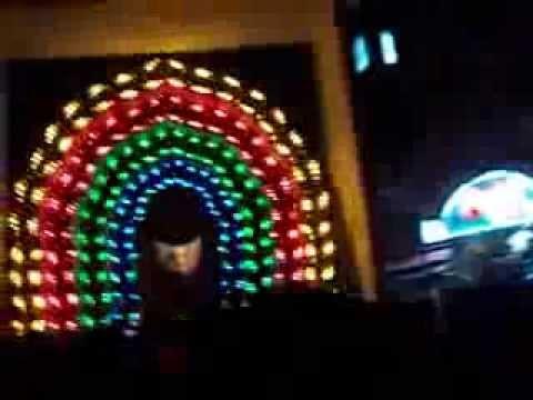 Ganpati light decoration 2012  YouTube
