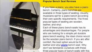 Popular Bench Seat Reviews