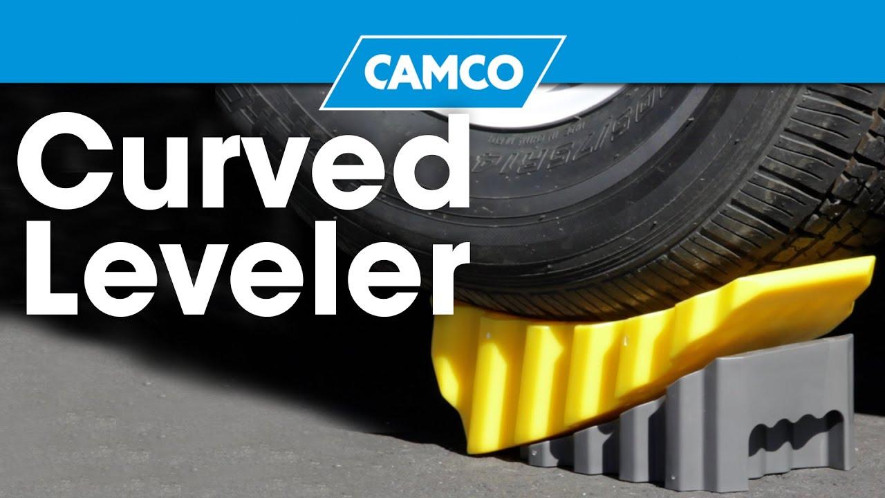 Camco Curved Trailer Rv Leveler Rainbowlands Lk