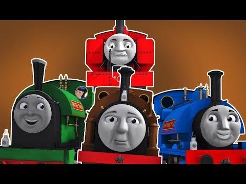Duke the Lost Engine | RWS Trainz Book Compilation