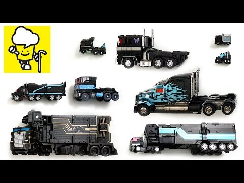 Transformers Black Optimus Prime Nemesis Prime Vehicles Robot Car Toys ランスフォーマー 變形金剛